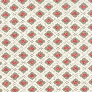 Moda Ambleside by Brenda Riddle - 3858 - Small Posies on Stone - 18602 17 - Cotton Fabric